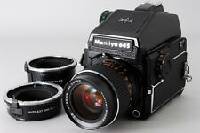 [Exce++++] Mamiya M645 1000S w/50mm lens, AE Finder, EXTRING x2 from Japan #347