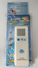 REMOTE CONTROL UNIVERSAL AIR CONDITIONING DUAL CORE KT 1000 SAMSUNG SHARP ALPIN