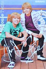 SPROUSE TWINS - Autogrammkarte - Cole Dylan Signed Autograph Autogramm Clippings