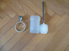 GROHE TENSO WC-Spazzole set n. 40298 cromo nuovo pezzo di rilascio