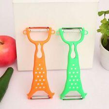 Kitchen Tools Gadgets Helper Vegetable Fruit Peeler  Julienne Cutter Slicer J85