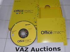 MS Microsoft Office MAC 2011 Home and Student Family Pack For 3PCs =BRAND NEW=