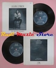 LP 45 7'JULIAN LENNON Too late for goodbyes Well i don't know 1984 no cd mc dvd