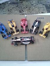 New Autoworld 6 Car Set Super III Indy lll HO Slot Car Bodies Run On Tomy AFX