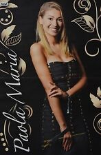PAOLA MARIA - A3 Poster (ca. 42 x 28 cm) - YouTube Star Sammlung Clippings NEU