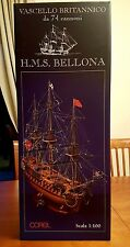 Wooden Ship COREL SM 54 H.M.S. BELLONA VASCELLO Britannico 74 GUNS 1/100