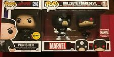 Punisher Chase & Daredevil & Bullseye 2-pack Funko Pop! Limited Exclusive Marvel