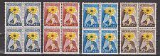 NVPH Netherlands Nederland nr 538 - 541 MNH PF sheets blokken 1949 NIWIN-zegels