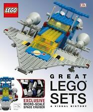 Great LEGO Sets: a Visual History by Daniel Lipkowitz and Dorling Kindersley...