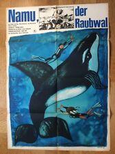 Namu, der Raubwal (DDR-Kinoplakat '68) - Robert Lansing / John Anderson