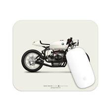 BMW R75/5 Cafe Racer Motorcycle illustration Mouse Pad
