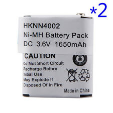 2x For Motorola 3.6V 1650mAh KEBT-071A KEBT-071B Interphone Battery Ni-MH White