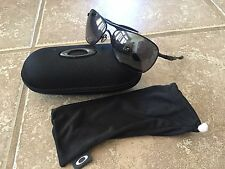 OAKLEY CROSSHAIR AVIATOR MATTE BLACK SUNGLASSES