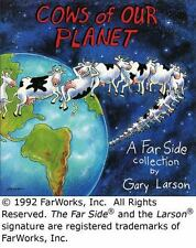 Cows of Our Planet: A Far Side Collection Larson, Gary Paperback