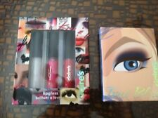 Claire's makeup/ COSMETIC  Book, **NEW** & claires lip gloss  new