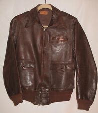 Authentic 1940's US AAF WWII A-2 Bomber / Instructor Flight Jacket