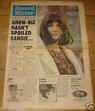 RECORD MIRROR 1965 SANDIE SHAW IVY LEAGUE BOB DYLAN ANIMALS THE WHO