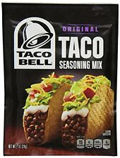 Taco Bell Seasoning Mix, Taco, 1-Ounce Pack of 24