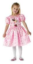 Childrens Pink Minnie Mouse Fancy Dress Costume Disney Outfit 3-4 Yrs
