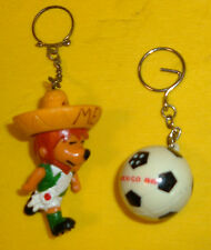FIFA WORLD CUP MASCOT WILLIE GOES MEXICO '70 BALL CHAMP86 CALCIO SOCCER MASCOTTE
