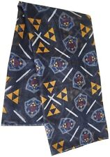 The legend of zelda bouclier épée et triforce fashion scarf | officiel (neuf)