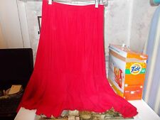 ANTTHONY DESIGN ORIGINALS Skirt/BLUE RED/NWOT/SIZE MEDIUM/QVC