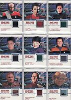 Quotable Star Trek Deep Space Nine DS9 Costume Card Selection