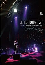 JUNG YONG HWA from CNBLUE 1st CONCERT in JAPAN One Fine Day DVD WPBL-90346 New