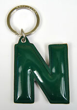 Marc by Marc Jacobs Alphabet Letter Initial Key Ring Chain Charm Holder Green N