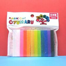 Oyumaru modeling Compound Moulding Stick [Color] 12pcs set