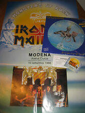 IRON MAIDEN-Seventh Son of a Seventh Son piclp, EMI ITALY 1988, poster, sticker!!!