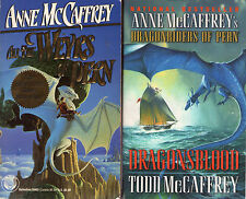 Mostly HARDCOVER Set Lot of 24 Dragonriders of Pern books by Anne McCaffrey