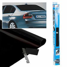 Ultra Dark Black Tint Car Limo Van Window Film Reduce Solar Sun Glare 300 x 50cm