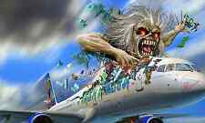 Poster A3 Ed Force One Iron Maiden