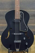 "Godin 5th Avenue Kingpin P90 Black ""SF"" Archtop Electric Guitar #031993900409"