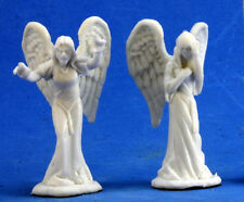 2 x ANGE DU CHAGRIN - BONES REAPER figurine spearman rpg d&d angel of sorrow