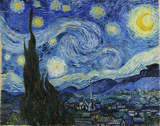 Vincent Van Gogh Starry Night canvas print reproduction giclee HD poster copy
