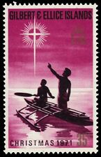 "GILBERT & ELLICE 192 (SG192) - Christmas ""Fishermen in Canoe"" (pa8741)"