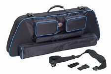 Slinger Convertable Bow Case Blue.3500 in of storage for Bowtech EVA Shockey
