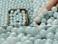15PCS Chinese Natural ICY Jade (Jadeite) loose beads/ Size:13-14mm (Wholesale)