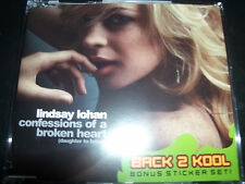 Lindsay Lohan Confession Of A Broken Heart Rare Australian CD Single