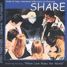 Share Songs of Hope Awareness & Recovery for Everyone NEW CD Various Artists 03