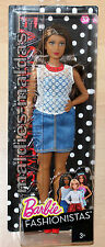 Barbie Fashionistas Glam Party mit Denim Kleid  Curvy DPX68 NEU/OVP Puppe