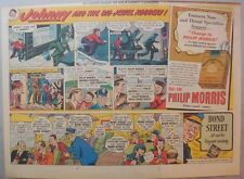 "Phillip Morris Cigarette Ad: ""Jewel Robbery"" from 1940's Size: 11 x 15 inches"