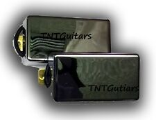 Dragonfire SCREAMERS Humbucker Pickup SET Bridge/Neck HH Pups SOLID COVER CHROME