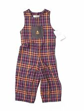New Toddler Boy Strasburg Plaid Robot Longall Romper Size 24 Months