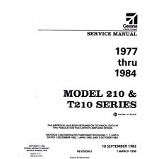 Cessna 210 & T210 Series Service Maintenance Manual
