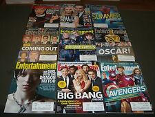 2012 ENTERTAINMENT WEEKLY MAGAZINE LOT OF 39 - GREAT STAR COVERS - O 965