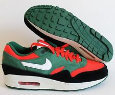 NIKE MEN AIR MAX 1 iD RED-GREEN-BLACK-WHITE SZ 12 [433213-998]