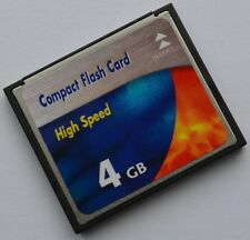 4 GB Compact Flash Speicherkarte für Canon IXUS 400